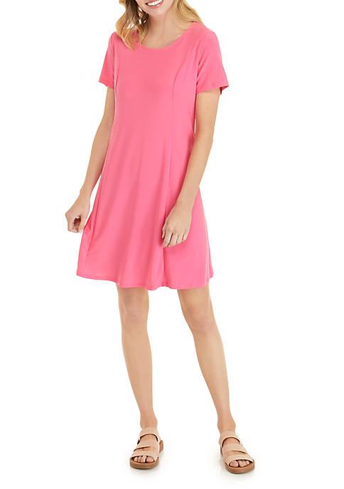 Petite Seam Front Dress