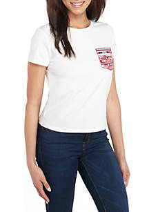 Embroidered Pocket T-Shirt