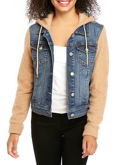 Cozy Denim 2Fer Jacket