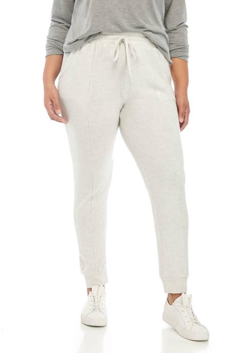New Directions® Plus Size Hacci Pants