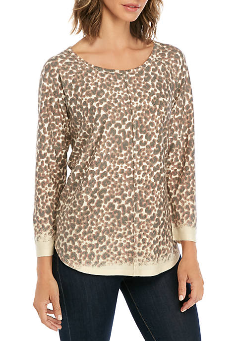 3/4 Sleeve Knit Top
