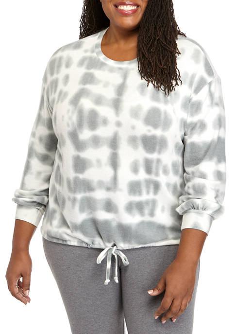 Plus Size Studio Hacci Pullover
