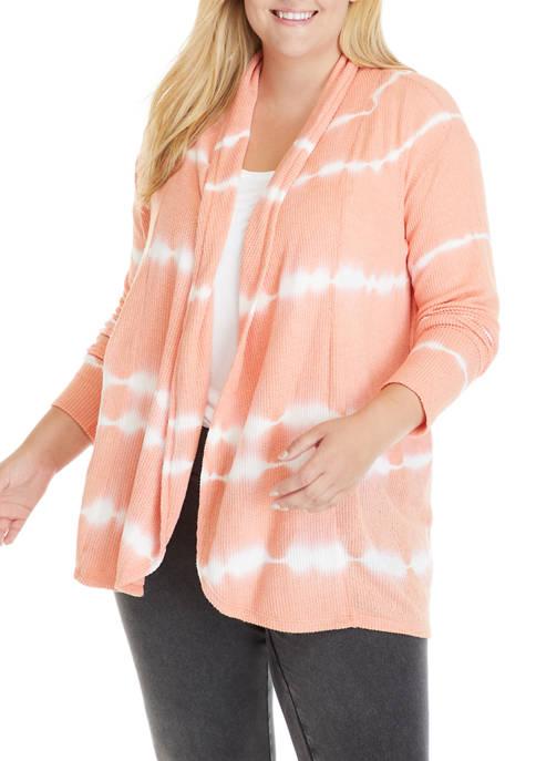 New Directions® Studio Plus Size Tie Dye Long