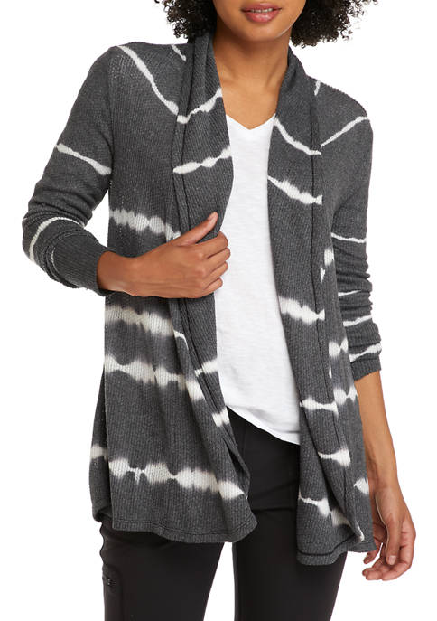 New Directions® Womens Long Sleeve Knit Cardigan