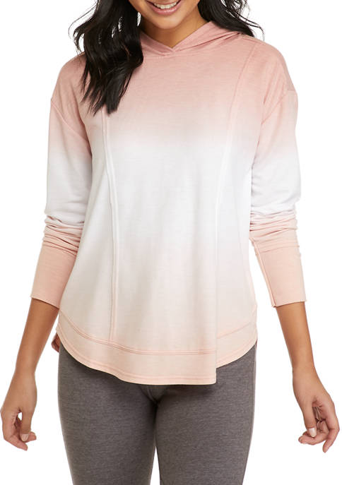 New Directions® Studio Womens Long Sleeve Knit Hoodie