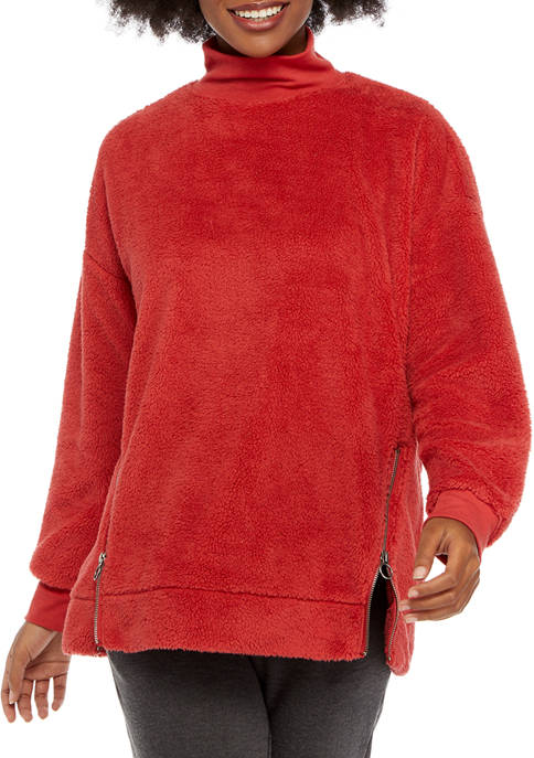 New Directions® Studio Zip Fleece Sweatshirt