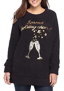Long Sleeve Woobie Sweatshirt Tunic