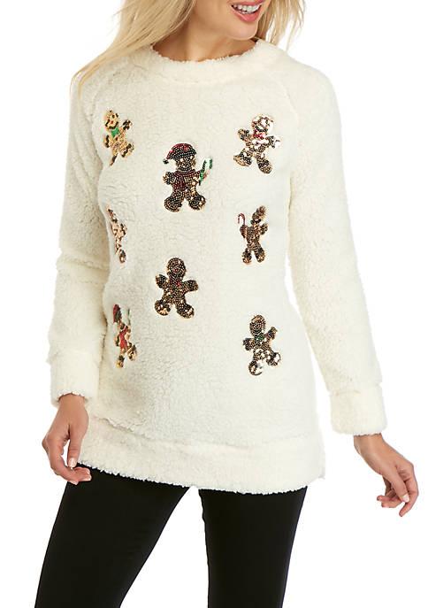 Joyland Long Sleeve Woobie Sweatshirt Tunic