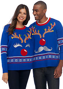 Naughty And Nice Pullover Sweater