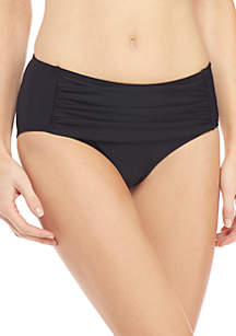 New Directions® High Waist Swim Bottoms With Tummy Control