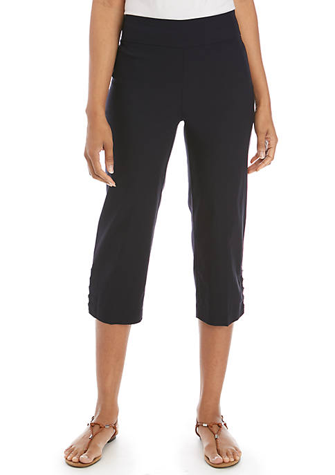 Kim Rogers® Luxe Floating Rivet Capris