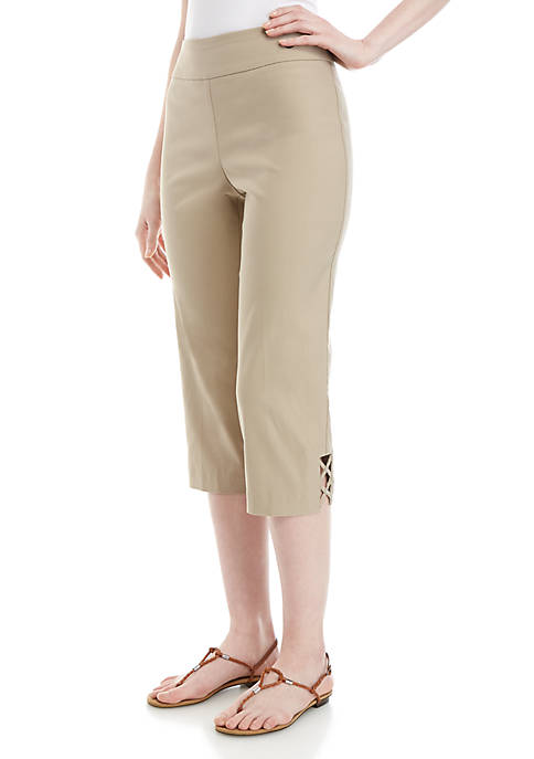 Kim Rogers® Luxe Pull On Pants with Criss