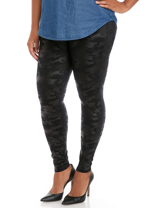 SPANX® Plus Size Camouflage Leggings