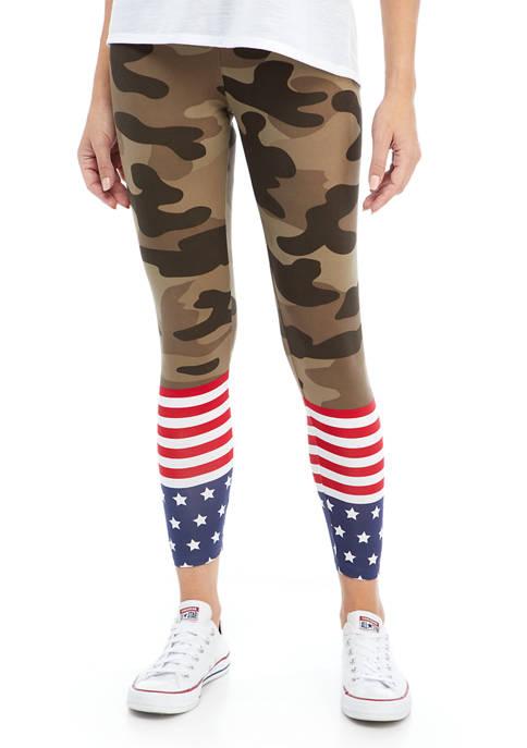 Kim Rogers® Petite Americana Leggings