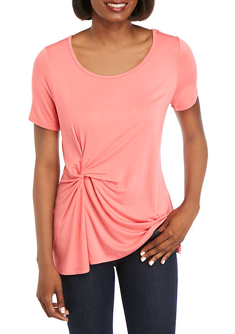 Kim Rogers® Side Knot T-Shirt