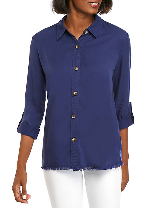 Kim Rogers® Boyfriend Shirt