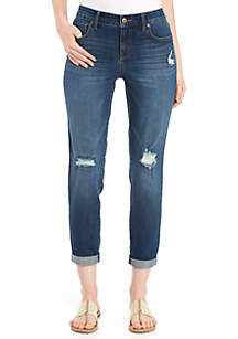 Destructed Boyfriend Jeans