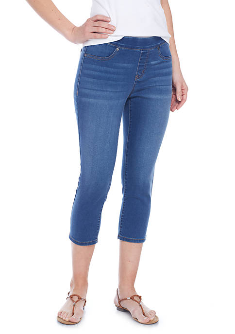 New Directions® Petite Size Pull-On Slim Capris