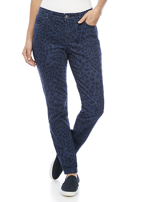 New Directions® Printed Skinny Jean