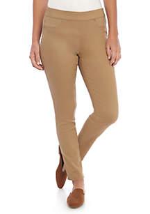 Petite Pull-On Slim Pant