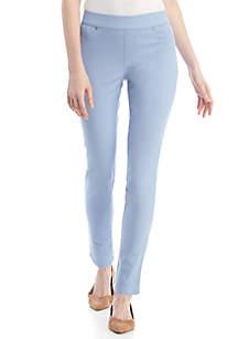 e52fce1f089 SLNY Rhinestone Embellished V Neck Tiered Dress · New Directions® Pull-On  Pants