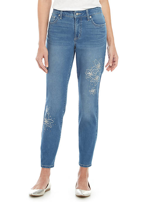 New Directions® Fashion Girlfriend Jeans