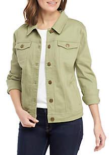 New Directions® Denim Jacket