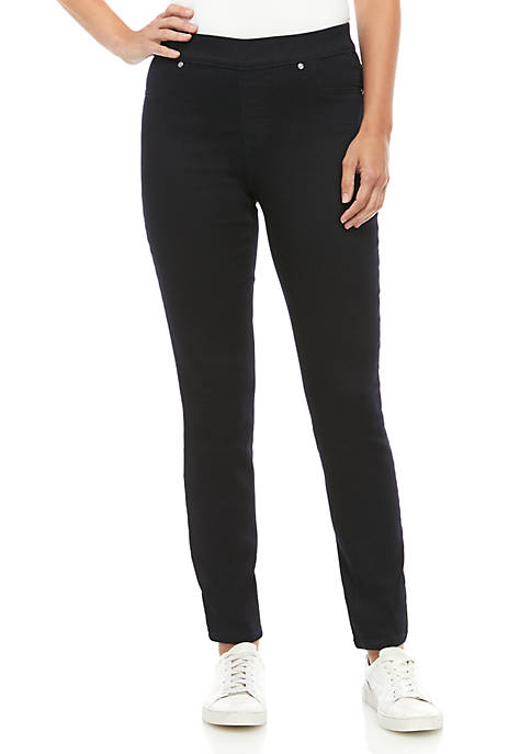 New Directions® Womens Pull On Slim Leg Average