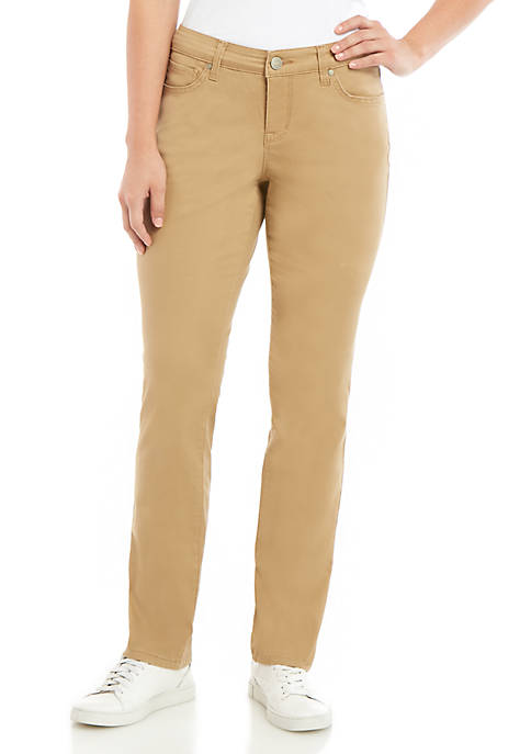 New Directions® Womens Straight Leg Jeans- Average