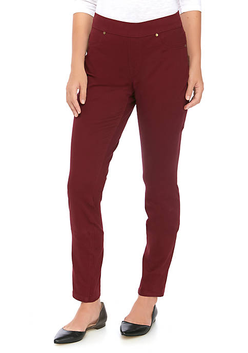 New Directions® Womens Pull On Skinny Leg Jeans
