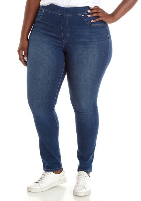 New Directions® Plus Size Pull On Slim Leg