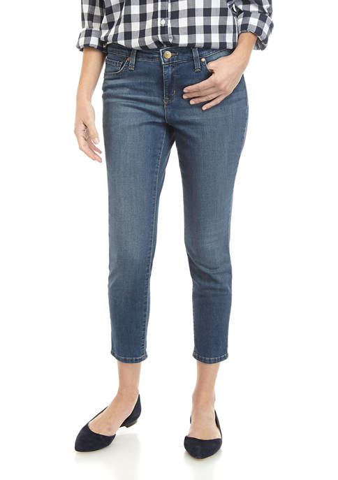 New Directions® Petite Short Skinny Jeans