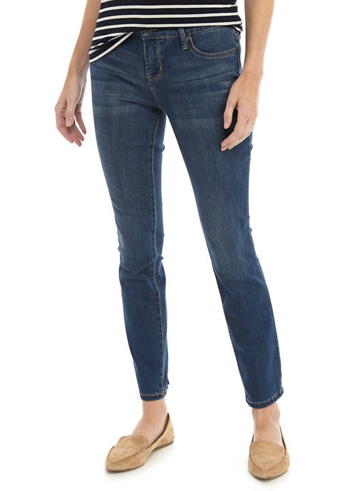 Petite Straight Leg Jeans - Average
