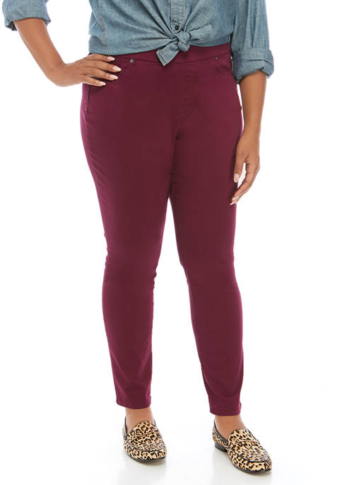 New Directions® Plus Size Pull On Pants Average