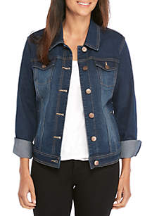 New Directions® Petite Denim Jacket