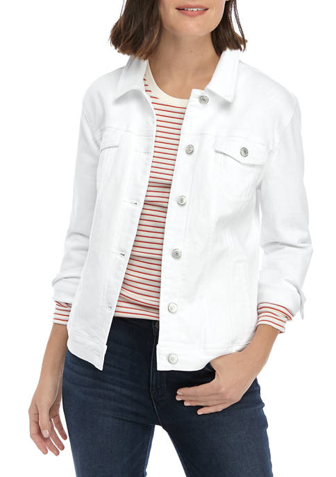 Womens Long Sleeve Denim Jacket