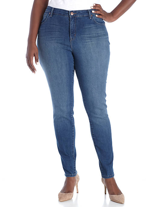 New Directions® Plus Size Skinny Jeans