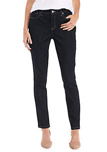 New Directions® Straight Jeans