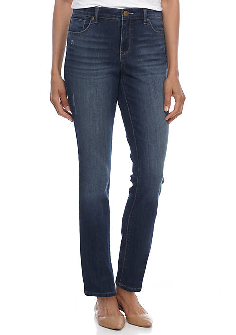New Directions® Straight Leg Jean