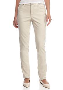 New Directions® Straight Leg Jean