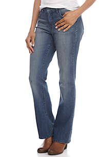 New Directions® Curvy Bootcut Jean