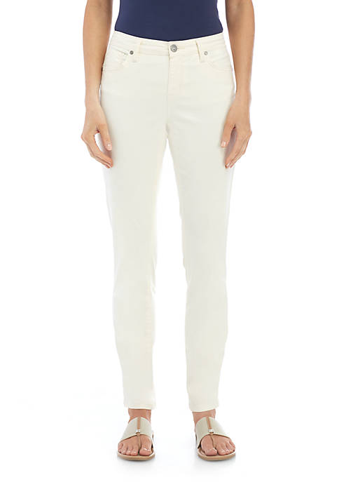 New Directions® Petite Straight Leg Jean