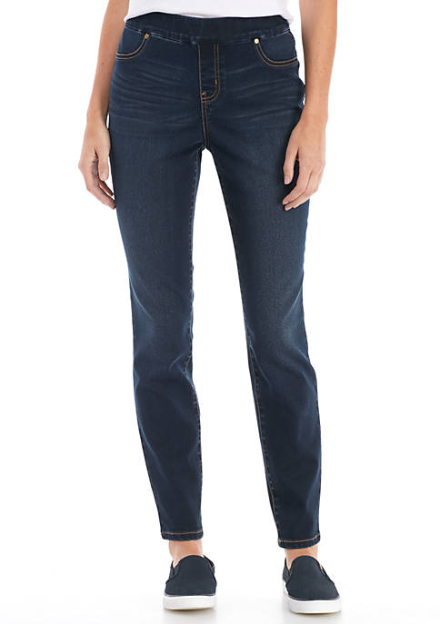 New Directions® Womens Pull On Skinny Jeans