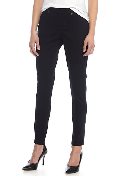 New Directions® Petite Pull On Average Skinny Jeans