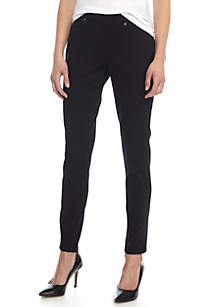 Petite Pull-On Skinny Pants