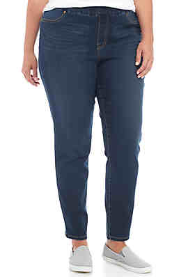 df0df17bf7102b New Directions® Plus Size Pull On Denim Pant ...