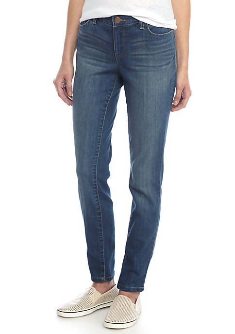 New Directions® Petite Skinny Jeans-(Short)