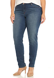 Plus Size Skinny Jean - Short Length