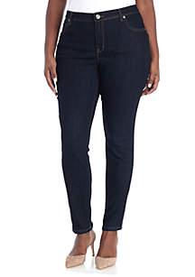 Plus Size Skinny Jean - Short Length