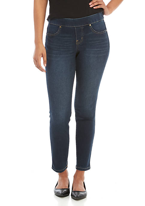 New Directions® Petite Pull On Jeans